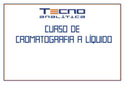 Curso de Cromatografia a Líquido HPLC