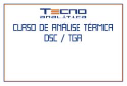Curso de Análise Térmica TGA e DSC